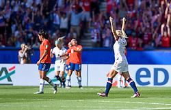 June 16, 2019 - Paris, France - Joie des joueurs de l equipe Etats Unis - Lindsey HORAN  (Credit Image: © Panoramic via ZUMA Press)