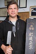 Murray Carter, 17th generation Yoshimoto Bladesmith, Portland, Oregon, USA