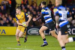 Jason Woodward of Bristol Rugby - Rogan Thomson/JMP - 18/11/2016 - RUGBY UNION - Recreation Ground - Bath, England - Bath Rugby v Bristol Rugby - Aviva Premiership.