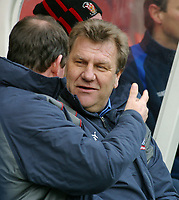 Photo: Dave Linney.<br />Stoke City v Birmingham City. The FA Cup. 19/02/2006.<br />Stoke Mge Johan Berkamp
