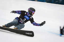 Vic Wild (RUS) competes during Final Run of Men's Parallel Giant Slalom at FIS Snowboard World Cup Rogla 2016, on January 23, 2016 in Course Jasa, Rogla, Slovenia. Photo by Ziga Zupan / Sportida