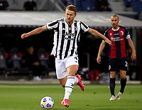 BOLOGNA, ITALY - MAY 23: Matthijs de Ligt of Juventus FC in action ,during the Serie A match between Bologna FC and Juventus FC at Stadio Renato Dall'Ara on May 23, 2021 in Bologna, Italy.(Photo by MB Media/Getty Images)