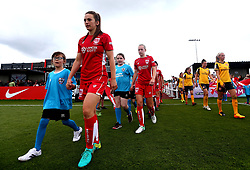 Chloe Arthur of Bristol City Women walks out with her team to face Arsenal Ladies - Mandatory by-line: Robbie Stephenson/JMP - 03/06/2017 - FOOTBALL - Stoke Gifford Stadium - Bristol, England - Bristol City Women v Arsenal Ladies - FA Women's Super League Spring Series