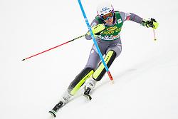 January 7, 2018 - Kranjska Gora, Gorenjska, Slovenia - Nastasia Noens of France competes on course during the Slalom race at the 54th Golden Fox FIS World Cup in Kranjska Gora, Slovenia on January 7, 2018. (Credit Image: © Rok Rakun/Pacific Press via ZUMA Wire)
