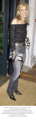 Fashion writer KIM HERSOV, at a party in London on 9th December 2002.PGB 58