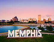 Downtown Memphis Skyline, Tennessee  © Karen Pulfer Focht