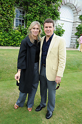 MR & MRS MARK STEWART at the Cartier Style et Luxe, the Goodwood Festival of Speed, West Sussex on 13th July 2008.<br /> <br /> NON EXCLUSIVE - WORLD RIGHTS