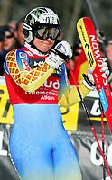 OFTERSCHWANG,DEUTSCHLAND,04.FEB.06 - SKI ALPIN - FIS Weltcup, Riesentorlauf der Damen, RTL. Bild zeigt Anja Paerson (SWE). Foto:  Thomas Bachun , Digitalsport<br /> Anja Pärson
