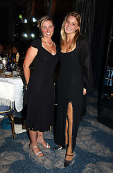 Left to right, ALISON HOLMAN and the HON.KIRSTY HAMILTON-SMITH at the Dyslexia Awards Dinner 2004 held at The Dorchester, Park Lane, London on 2nd November 2004.<br />