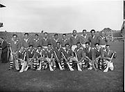 06/09/1959<br /> 09/06/1959<br /> 6 September 1959<br /> All-Ireland Junior Final: London v Antrim at Croke Park, Dublin.  London Team.