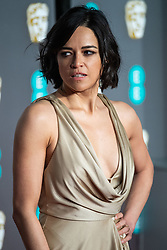 Michelle Rodriguez attending 72nd British Academy Film Awards, Arrivals, Royal Albert Hall, London. 10th February 2019