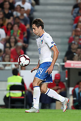 September 10, 2018 - Lisbon, Portugal - Italy's forward Federico Chiesa in action during the UEFA Nations League A group 3 football match Portugal vs Italy at the Luz stadium in Lisbon, Portugal on September 10, 2018. (Credit Image: © Pedro Fiuza/NurPhoto/ZUMA Press)