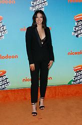 March 23, 2019 - Los Angeles, CA, USA - LOS ANGELES, CA - MARCH 23: Madeline Whitby attends Nickelodeon's 2019 Kids' Choice Awards at Galen Center on March 23, 2019 in Los Angeles, California. Photo: CraSH for imageSPACE (Credit Image: © Imagespace via ZUMA Wire)