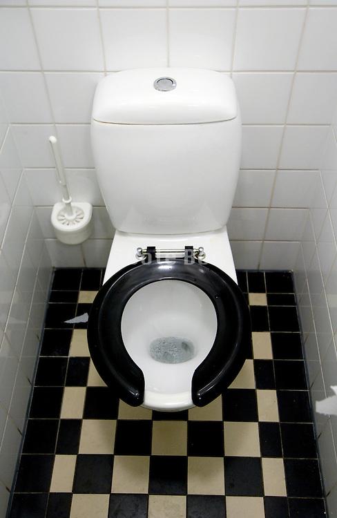 a clean Dutch toilet