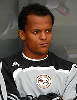 Photo: Steve Bond.<br />Derby County v RCD Espanyol. Pre Season Friendly. 04/08/2007. Rob Earnshaw