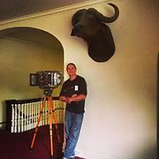 """Modern Industry"" photo shoot inside George Eastmans home."