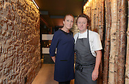 JP License<br /> <br /> <br /> One of the UK's leading restaurants has reopened its doors following a major refurbishment and expansion.  Celebrity Chef Tom Kitchin will prepare to welcome his first guests on Friday 23rd January, as he reveals the much anticipated developments at Michelin star restaurant The Kitchin, in Leith Edinburgh.<br /> <br /> <br /> <br /> Restaurant The Kitchin - led by Chef Tom Kitchin, his wife Michaela and their award-winning team - has become a firm favourite with locals, as well as visitors from across the world, since it opened in June 2006.  The doors will re-open this week, revealing an extended dining space, an exclusive private dining room, a distinctive whisky snug and a temperature controlled wine cellar, as well as an expanded kitchen and a new butchery area for Tom and his team of chefs. <br /> <br /> Michaela and  Tom standing in the entrance to the restaurant<br /> <br />  Neil Hanna Photography<br /> www.neilhannaphotography.co.uk<br /> 07702 246823
