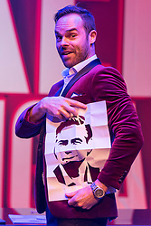 © Licensed to London News Pictures. 01/09/2016. MIKE TYLER performs their show THE NAKED MAGICIANS at Trafalgar Studios. London, UK. Photo credit: Ray Tang/LNP