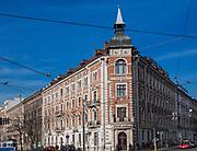 Hotel Polonia przy ulicy Basztowej w Krakowie, Polska<br /> Polonia Hotel at Basztowa Street in Cracow, Poland