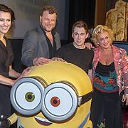 NLD/Amsterdam/20150414 - Onthulling van de Nederlandse stemmencast van de Minions,