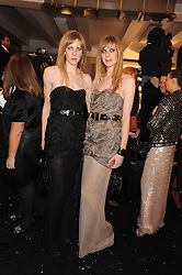 Left to right, ANETTE FELDER and DANIELLA FELDER design label Felder & Felder at the 2008 British Fashion Awards held at the Lawrence Hall, Westminster, London on 25th November 2008.