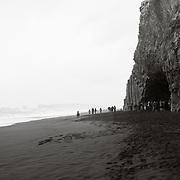 Hálsanefshellir Cave Reynisfjara Beach