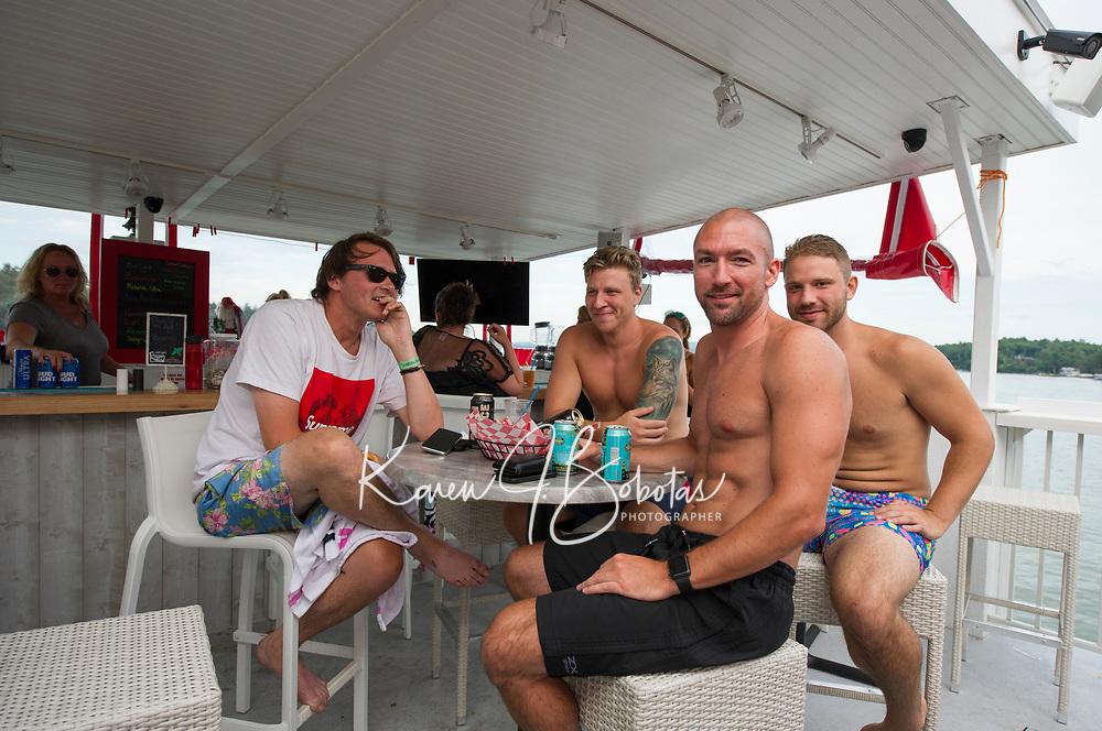 Dive Bar on Lake Winnipesaukee.  Karen Bobotas for the Laconia Daily Sun