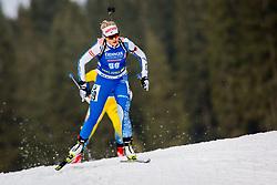 Venla Lehtonen (FIN) during Women 15km Individual at day 5 of IBU Biathlon World Cup 2018/19 Pokljuka, on December 6, 2018 in Rudno polje, Pokljuka, Pokljuka, Slovenia. Photo by Ziga Zupan / Sportida