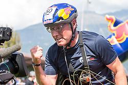10.09.2016, Lienz, AUT, Red Bull Dolomitenmann 2016, Paragleiter, im Bild Wendelin Ortner (AUT, Paragleiter vom Team Wings for Life) // during the Paragliding of the 2016 Red Bull Dolomitenmann at the Lienz, Austria on 2016/09/10. EXPA Pictures © 2016, PhotoCredit: EXPA/ Johann Groder