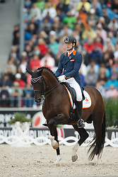 Van Silfhout Diederick, (NED), Arlando<br /> Grand Prix Kur<br /> European Championships - Aachen 2015<br /> © Hippo Foto - Dirk Caremans<br /> 16/08/15
