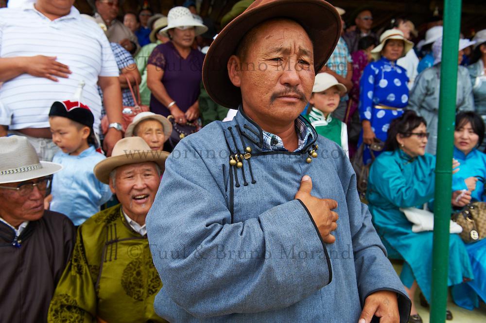 Mongolia, province de Bulgan, fete du Naadam // Mongolia, Bulgan province, Naadam festival