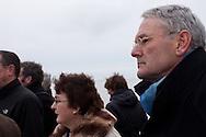 Dijkgraaf Paul van Erkelens (Wetterskip Fryslan en gedeputeerde Tineke Schokker (provincie Fryslan)