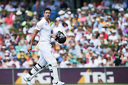 © Licensed to London News Pictures. 04/01/2014. Kevin Pietersen walks off after getting out during day 2 of the 5th Ashes Test Match between Australia Vs England at the SCG on 4 January, 2013 in Melbourne, Australia. Photo credit : Asanka Brendon Ratnayake/LNP