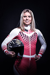 12.10.2019, Olympiahalle, Innsbruck, AUT, FIS Weltcup Ski Alpin, im Bild Katharina Liensberger // during Outfitting of the Ski Austria Winter Collection and the official Austrian Ski Federation 2019/ 2020 Portrait Session at the Olympiahalle in Innsbruck, Austria on 2019/10/12. EXPA Pictures © 2020, PhotoCredit: EXPA/ JFK