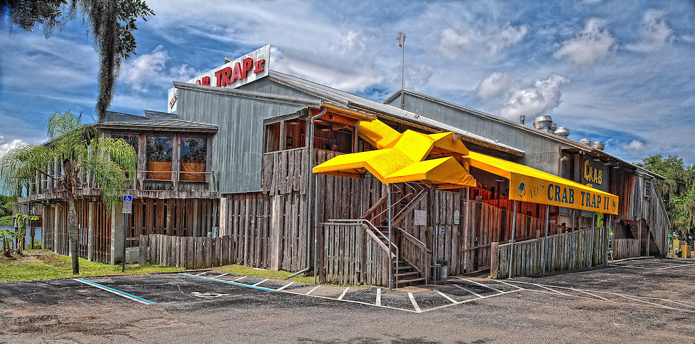 """Crab Trap II is located in Ellenton Florida on the north side of the Manatee River. Try the She Crab soup. It's to """"die for""""."""