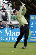 Soren Kjeldsen tees off on the 1st during the third round of the Irish Open on 19th of May 2007 at the Adare Manor Hotel & Golf Resort, Co. Limerick, Ireland. (Photo byEoin Clarke/NEWSFILE).