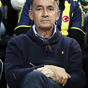 Bogdan TANJEVIC during their Euroleague Basketball Top 16 Game 2 match Fenerbahce Ulker between Power Electronics Valencia at Sinan Erdem Arena in Istanbul, Turkey, Thursday, January 27, 2011. Photo by TURKPIX