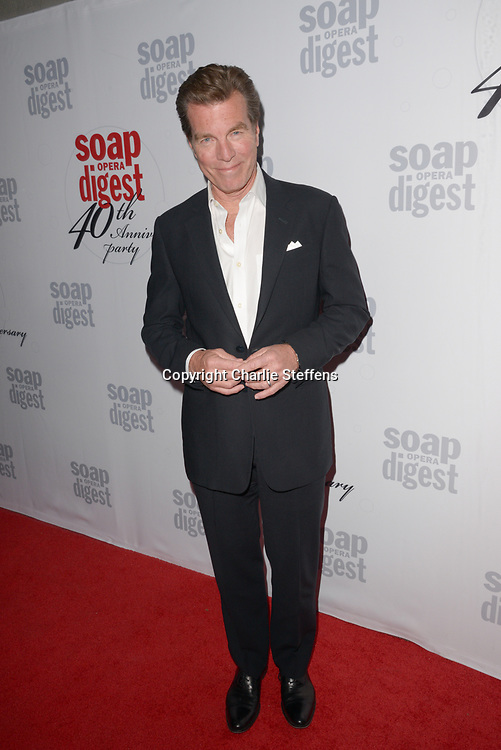 PETER BERGMAN at Soap Opera Digest's 40th Anniversary party at The Argyle Hollywood in Los Angeles, California