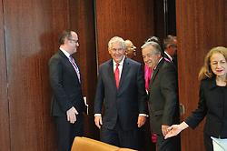April 28, 2017 - New York, United States - Secretary-General Antonio Guterres met with Rex W. Tillerson, Secretary of State, USA at the UN headquarters in New York. (Credit Image: © Luiz Roberto Lima/Pacific Press via ZUMA Wire)