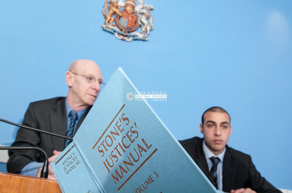 Clerk of the Court advises Sheffield Magistrates' on a point of law, using Stones Justice Manual