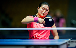Zhou Ying of China plays final match during Day 4 of SPINT 2018 - World Para Table Tennis Championships, on October 20, 2018, in Arena Zlatorog, Celje, Slovenia. Photo by Vid Ponikvar / Sportida
