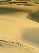 4WD and Sand Dunes on Stockton Beach,near Newcastle, NSW, Australia