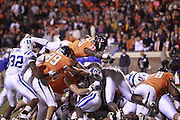 CHARLOTTESVILLE, VA- NOVEMBER 12:   during the game on November 12, 2011 at Scott Stadium in Charlottesville, Virginia. Virginia defeated Duke 31-21. (Photo by Andrew Shurtleff/Getty Images) *** Local Caption ***