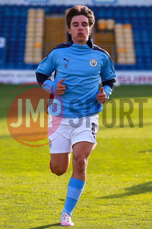 Adrian Bernabe of Manchester City - Mandatory by-line: Ryan Crockett/JMP - 08/09/2020 - FOOTBALL - One Call Stadium - Mansfield, England - Mansfield Town v Manchester City U21 - Leasing.com Trophy