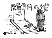 (The grave of Star Trek creator Gene Roddenberry. The tombstone reads 'Gene Roddenberry Born 1921 Beamed Up 1991')