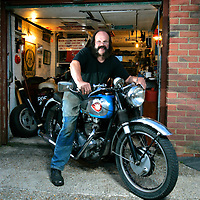 Chivvy. BSA, AJS, Aerial,Motor Cycle restorer., Cowes, Isle of Wight UK
