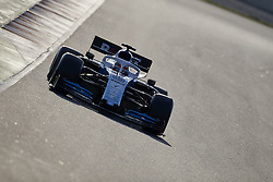 February 28, 2019 - Spain - George Russel (Williams Racing) FW42 car, seen in action during the winter testing days at the Circuit de Catalunya in Montmelo  (Credit Image: © Fernando Pidal/SOPA Images via ZUMA Wire)