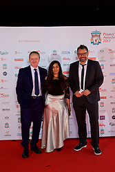 LIVERPOOL, ENGLAND - Tuesday, May 9, 2017: xxxx, xxxx and xxxx on the red carpet for the Liverpool FC Players' Awards 2017 at Anfield. (Pic by David Rawcliffe/Propaganda)