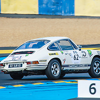 #62, Porsche 911 2.0 litres (1966), drivers: Ivan Vercoutere, Charles Rupp, Grid 4, on 06/07/2018 at the 24H of Le Mans, 2018
