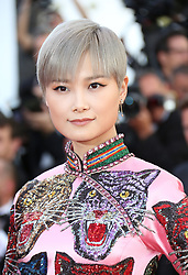 May 20, 2017 - Cannes, France - LI YIN CHUN Okja Red Carpet Arrivals - The 70th Annual Cannes Film Festival.CANNES, FRANCE - MAY 19: attends the 'Okja' screening during the 70th annual Cannes Film Festival at Palais des Festivals on May 19, 2017 in Cannes (Credit Image: © Visual via ZUMA Press)